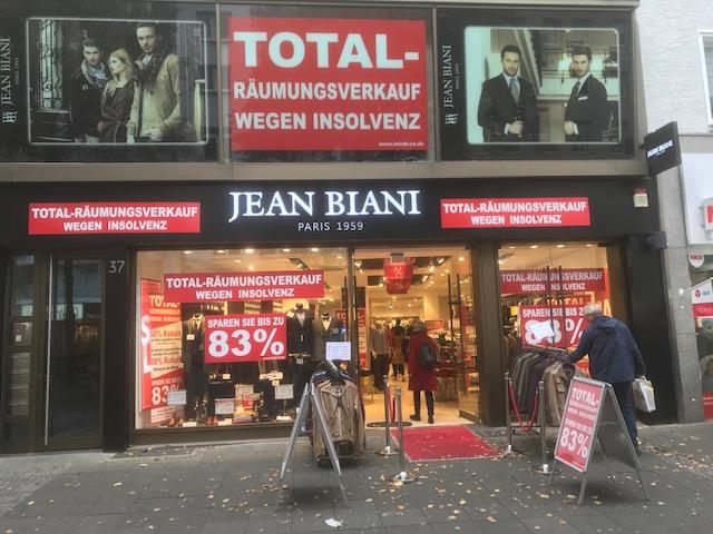 Ladenlokal Filiale Hagen - Jean Biani - Leicht und Co. GmbH