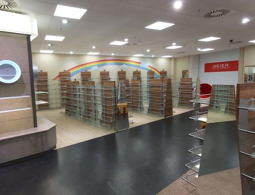 Inventarverwertung hochwertige Ladeneinrichtung für den Schuhhandel Erfurt
